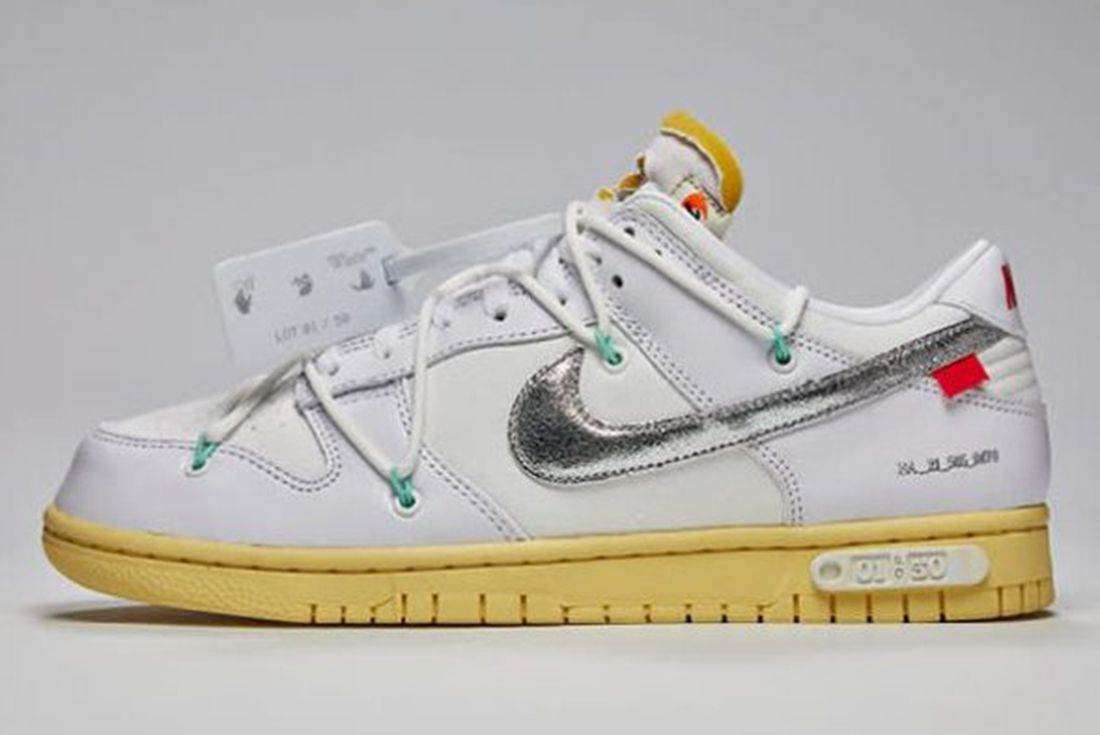 'The 50' Off-White x Nike Dunk Low 'Dear Summer' official