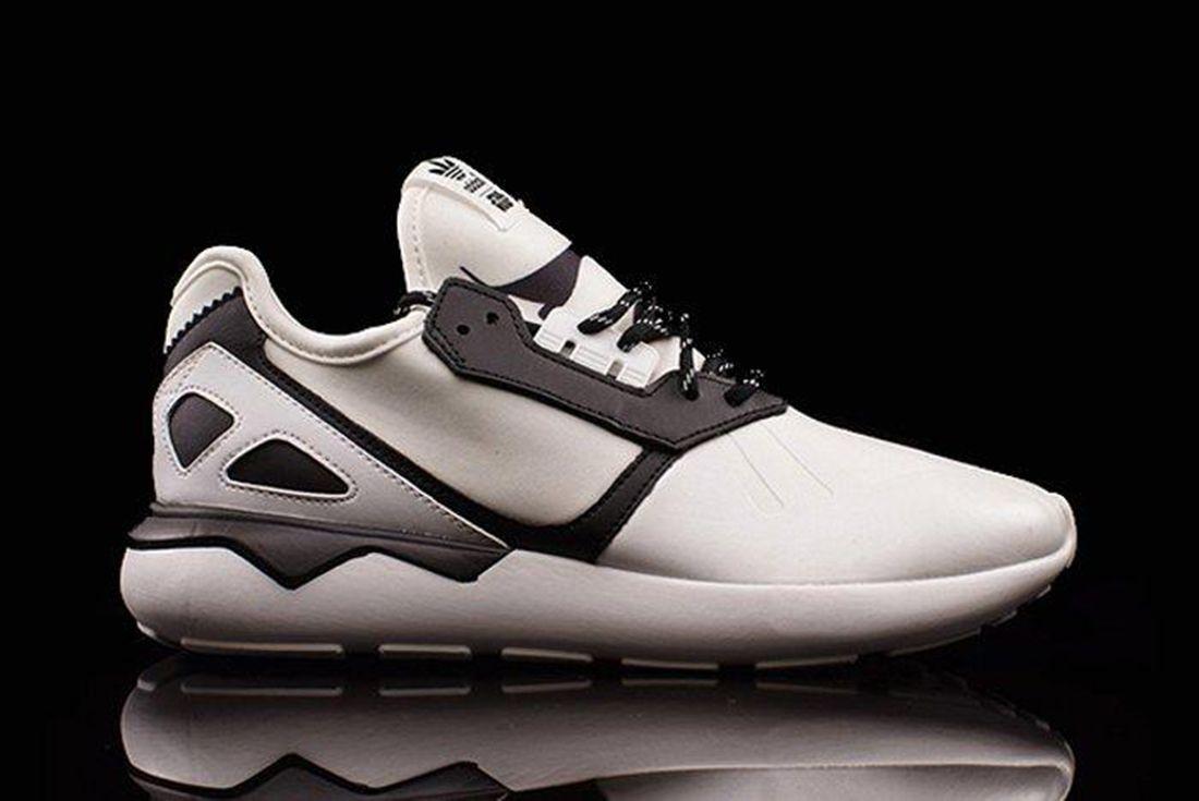 Adidas Tubular White Black Stormtrooper Side