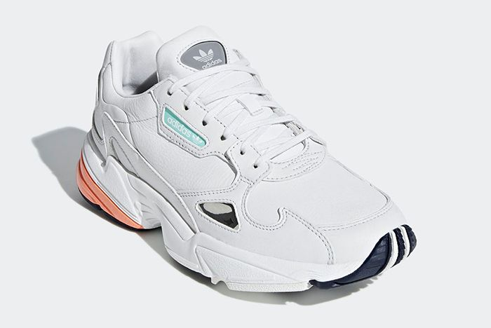 Adidas Falcon White Leather 2
