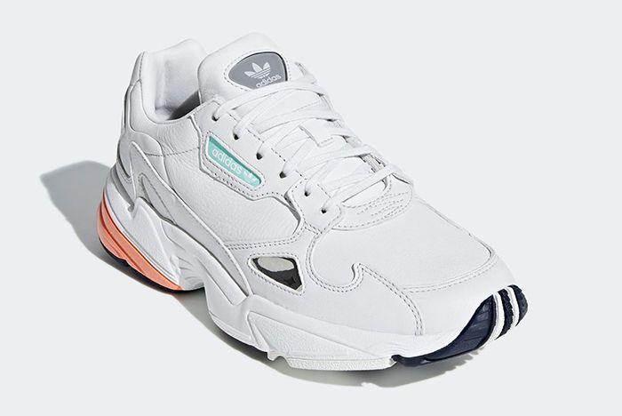 Adidas Falcon White Leather 2