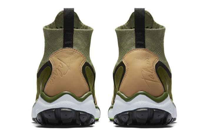 Nike Air Zoom Talaria Mid Flyknit Green Tan 2