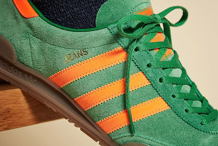 Adidas Jeans Green 1