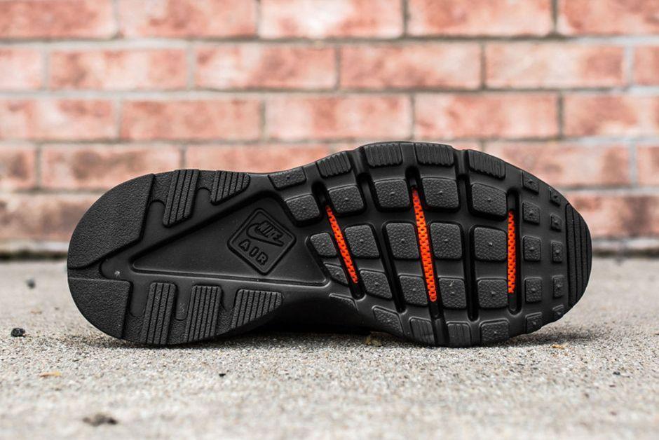 Nike Air Huarache Ultra Br Triple Black 1