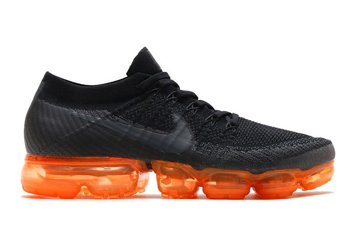 1 Black Rush Orange Vapormax Sneaker Freaker