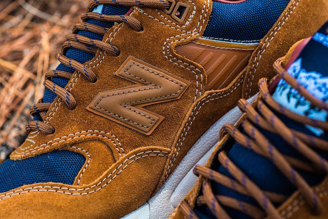 New Balance 580 Brown Leather 1