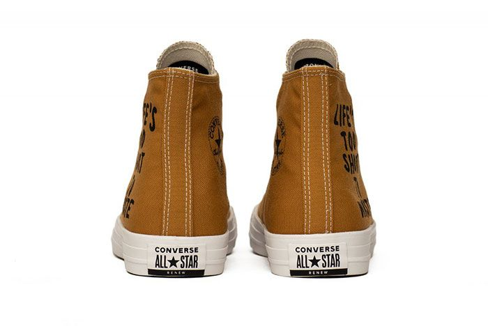 Converse Chuck Taylor Lifes Too Short To Waste Heels