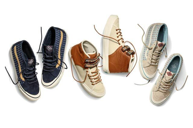Vault By Vans X Taka Hayashi Th Sk8 Mid Lx And Th Priz Hi Lx For Spring 2015