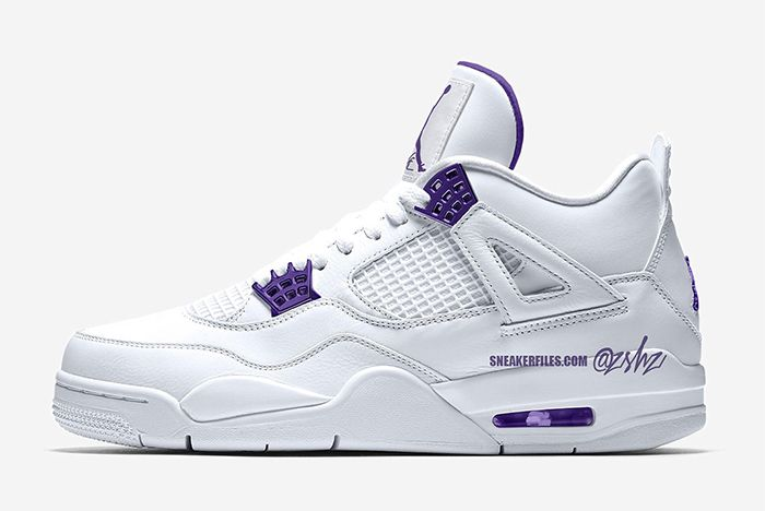 Air Jordan 4 Court Purple