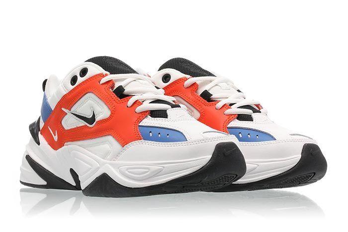 Nike M2K Tekno Summit White Team Orange 3