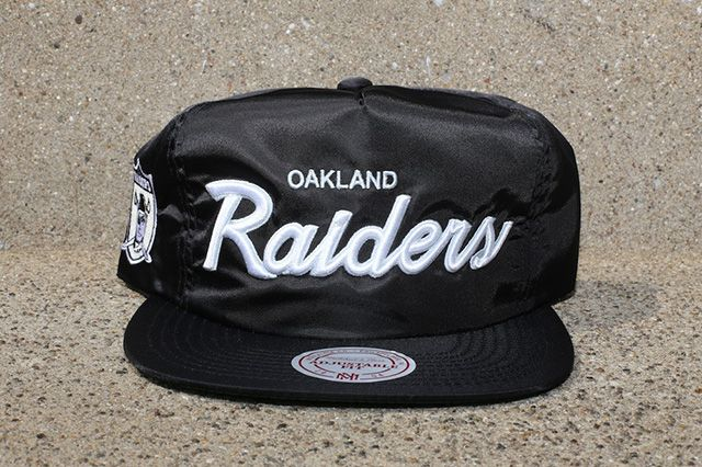 Mitchell Ness Black Satin Nfl Dome Cover Capsule 2