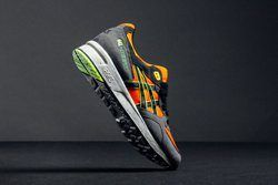 Asics Gel Lyte Speed Dark Grey Orange Thumb