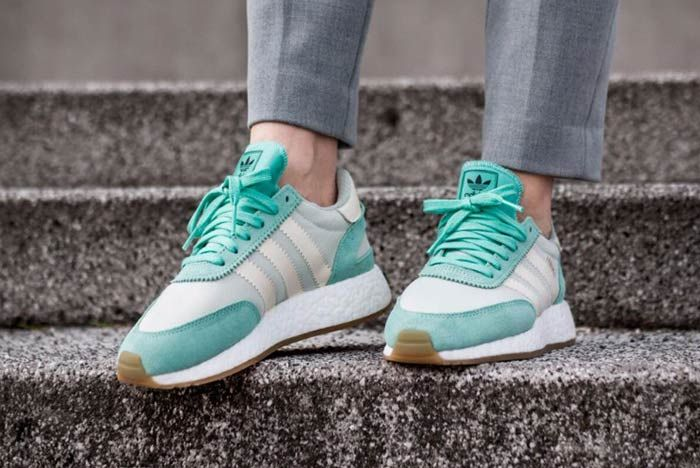 Adidas Iniki Runner Boost Easy Green 1