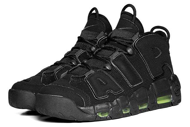 Nike More Uptempo Black 7 1
