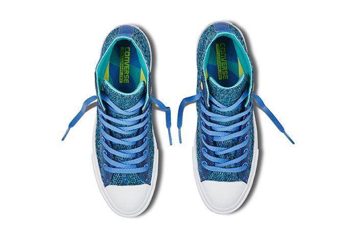 Converse Chuck Taylor All Star High Open Knit Blue 3
