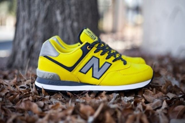 Nb574 Windbreaker Yellow Profile 1