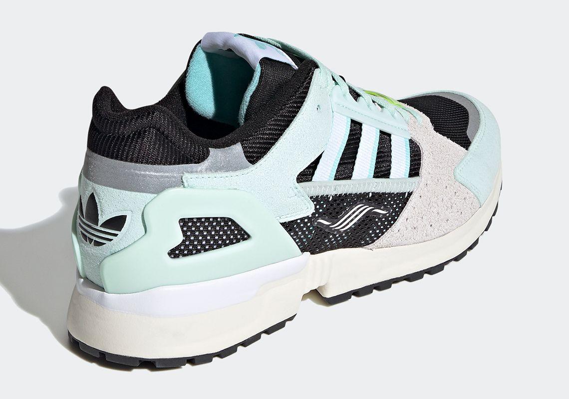 adidas ZX 10.000C Mint Green Heel