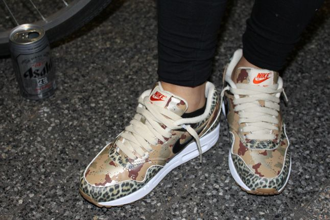 Atmos Nike Air Max Animal Camo Launch Leopard 1