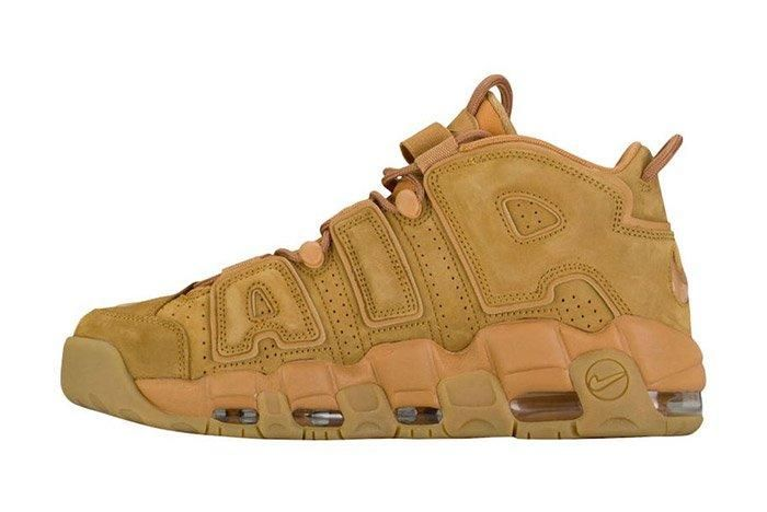 Nike Air More Uptempo Wheat Brown 4
