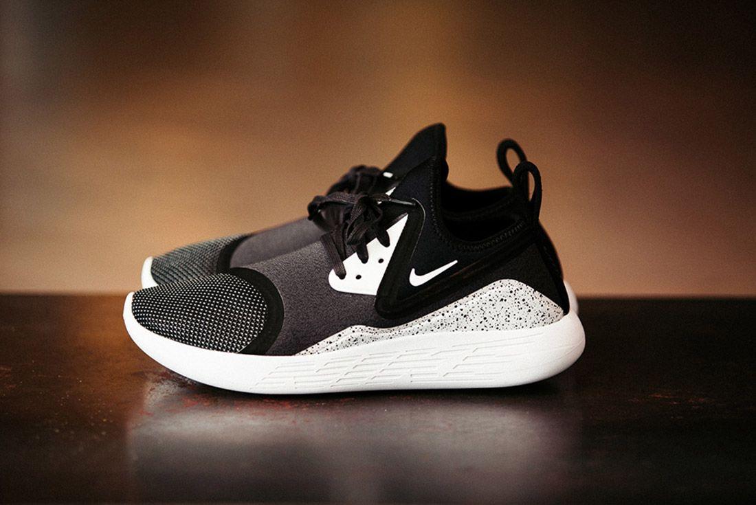 Nike Lunarcharge Black White 3