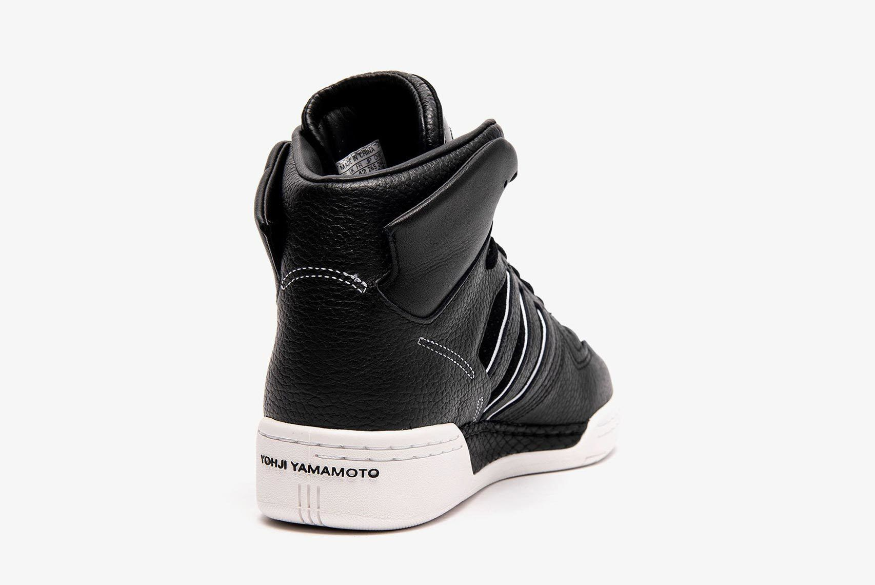 Adidas Y3 Hayworth Black Heel Shot 5