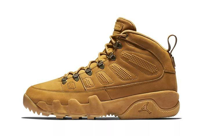 6 Air Jordan 9 Boot Wheat 1