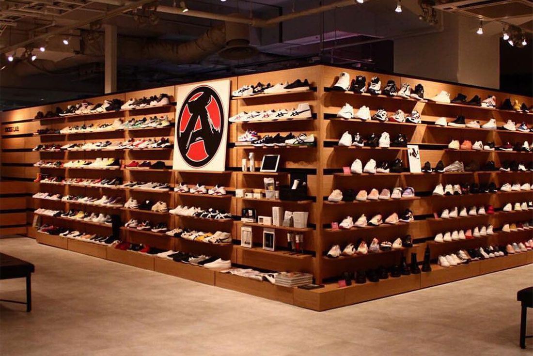 Kicks Lab In Store