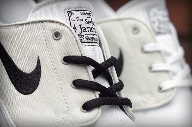 Nike Sb Zoom Stefan Janoski Canvas Grey White 3