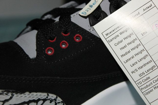 Air Jordan 3 Black Cement Suede Sample 05 1