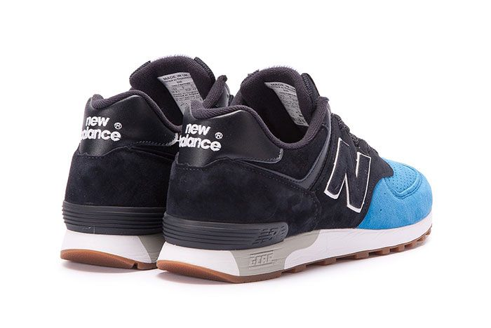 New Balance 576 Made In England Black Blue 3