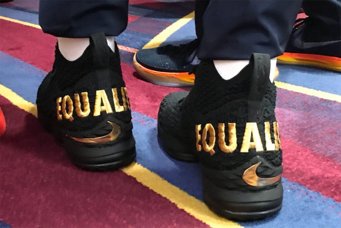 Lebron 15 Equality Large