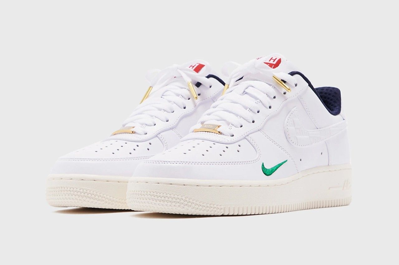 KITH Nike Air Force 1 Friends and Family Angled