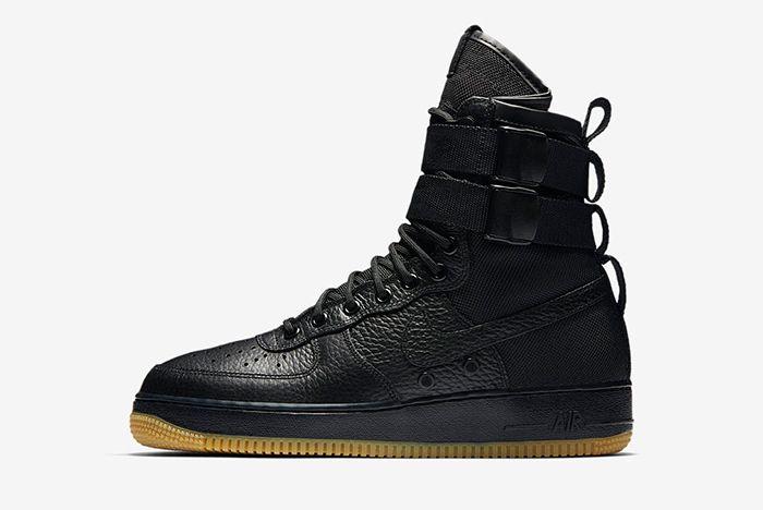 Nike Sf Air Force 1 Black 2