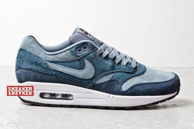 Nike Air Max 1 Suede Blu 1 1