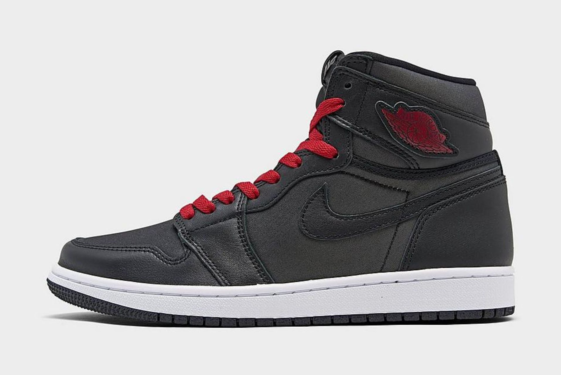 Air Jordan 1 (Black Satin)