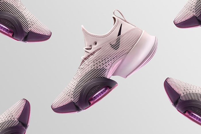 Nike Air Zoom Superrep Pink Lateral