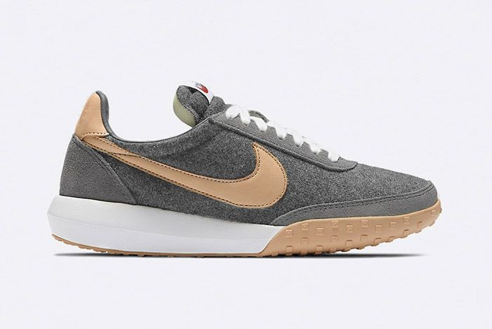 Nike Waffle Racer Ultra Premium Wool Vachetta Tan Leather 1