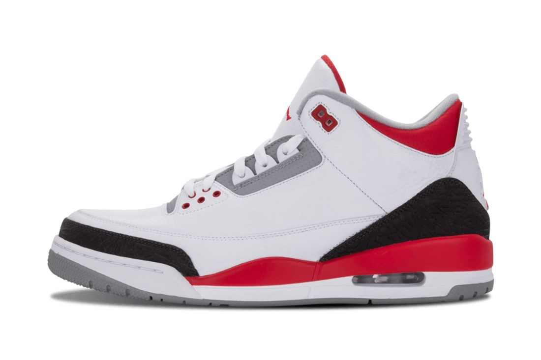 Fire Red Air Jordan 3 Best Feature