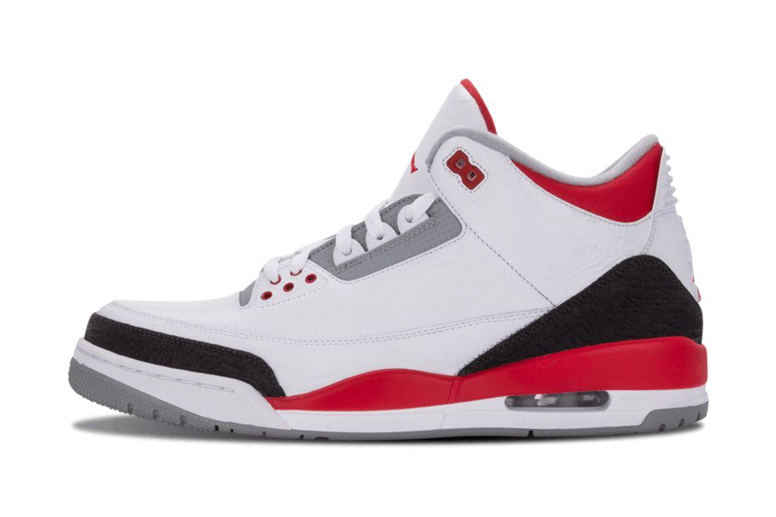 Fire Red Air Jordan 3 Best Feature