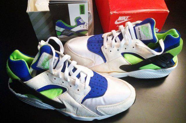 Original Nike Air Huarache Scream Green Available On Ebay 2