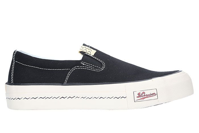 Visvim Skagway Slip On Black Lateral
