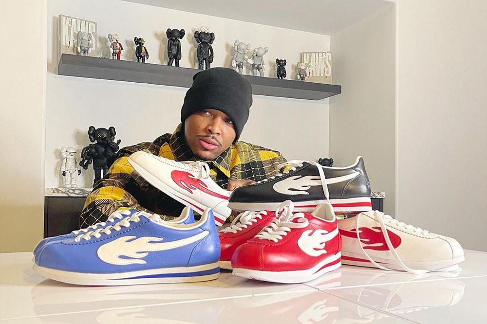 YG 4Hunnid The Flame Sneaker