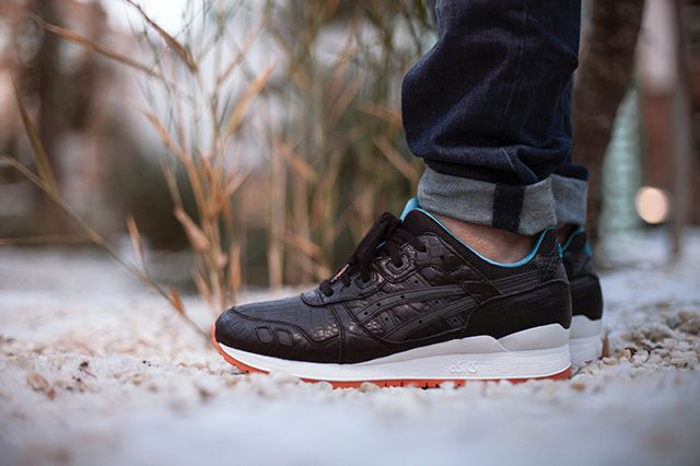 Asics Gel Lyte 3 Miami Vice Black Bump