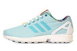 Adidas Originals Zx Flux Weave Light Aqua Thuimb