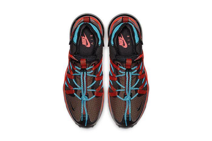 Nike Air Max 270 Bowfin Aqua Red Brown 3