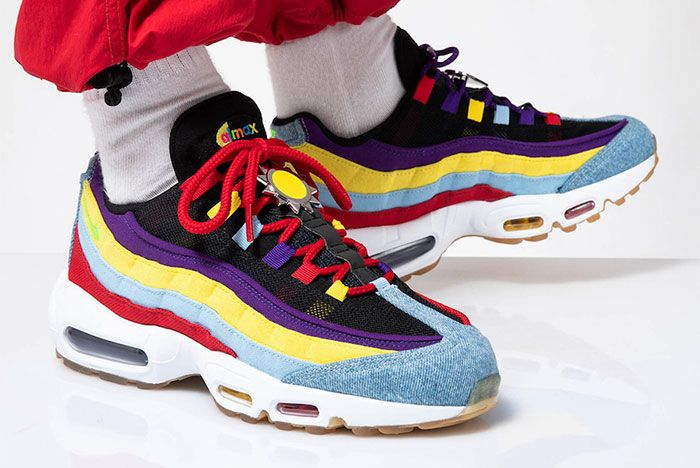 Nike Air Max 95 Sp Multicolor Right Front