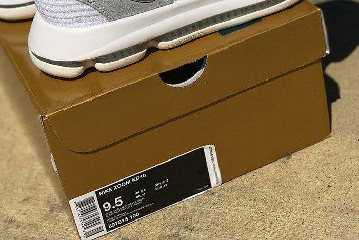 Nike Zoom Kd 10 Pure Platinum 3