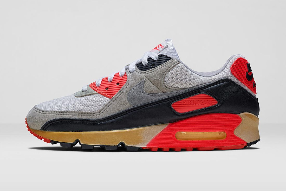 Nike Air Max 90 Infrared Original 1990 Hero