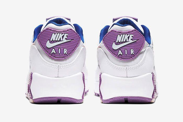 Nike Air Max 90 Easter Cj0623 100 Heel