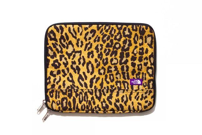 The North Face Purple Label Leopard Print Collection 2013 Laptop Case 1