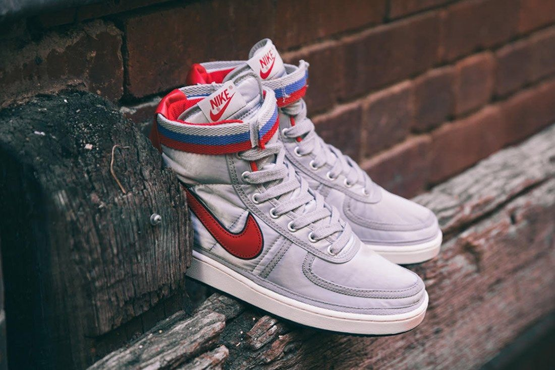 Nike Vandal High Supreme Qs Metallic Silver 4